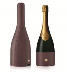 Krug en Voyage by Moynat – Lederetui für die Champagnerflasche