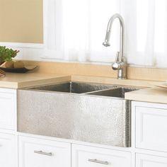 Farmhouse Duet Kitchen Sink from Native Trails   YBath