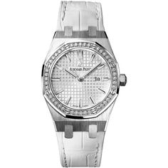 Audemars Piguet Royal Oak Quartz 33mm 67651st.zz.d011cr.01 Watch (160.543.105 IDR) ❤ liked on Polyvore featuring jewelry, watches, stainless steel, audemars piguet watches, quartz jewelry, audemars piguet, quartz wrist watch and bezel watches