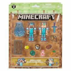 Mattel Minecraft Ultimate Collector/'s Pack STRAY with Water Block 3 inch Figure
