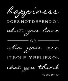 Right thinking.