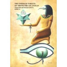 The history of the Emerald Tablets is strange and beyond the belief of modern scientists. Their antiquity is stupendous, dating back some 36,000 years B.C. The author is Thoth, an Atlantean Priest-King who founded a colony in ancient Egypt, wrote the Emerald Tablets in his native Atlantean language which was translated by Dr. Michael Doreal.