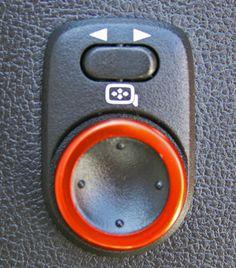 Camaro Billet Mirror Control Bezel Cover