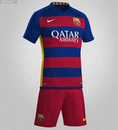 The new Nike FC Barcelona Home and Away Kits feature a revolutionary shirt  design. The new FC Barcelona Home Jersey has horizontal stripes f147843b478df