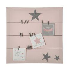 PASTEL canvas memo board in pink 45 ...