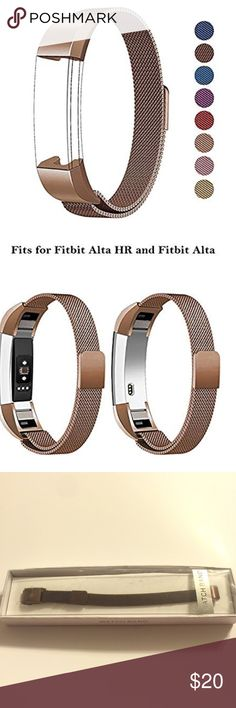Dress up your Fitbit Alta with this unique band  | Milanese