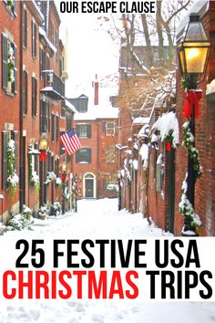 Best Christmas Vacations, Christmas Getaways, Christmas Destinations, Christmas Travel, Holiday Travel, Vacation Destinations, Vacation Spots, Christmas Trips, Vacation Ideas