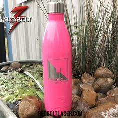 Laser Engraved RTIC 25oz Water Bottles #redbolt #laserengraving #yeti #rtic #customtumblers