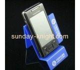 Custom acrylic cell phone display rack mobile phone display stand mobile phone display rack CPK-027