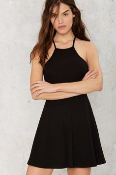 Angie Fit & Flare Mini Dress - Clothes | Going Out | Basic | Fit-n-Flare | LBD
