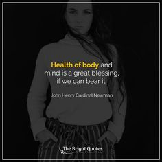 100 Short Health Quotes to Enjoy & Stay Healthy in 2021 - The Bright Quotes Short Health Quotes, Short Quotes, Bright Quotes, Dorothy Parker, Joyce Meyer, Tony Robbins, How To Stay Healthy, Proverbs, The Cure
