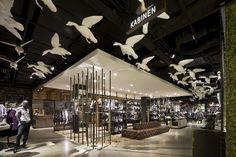 s.Oliver flagship store by Konhäuser, Stuttgart visual merchandising store design