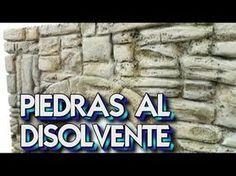 ARCO DE PIEDRA TECNICA DISOLVENTE EN POREXPAN PARA DECORAR - YouTube