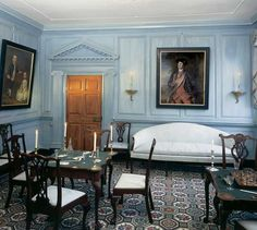 West Parlor ~ Mount Vernon ~ Alexandria ~ Virginia ~ President George Washington's Home