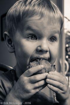 NOM NOM (Sweet Tooth) - Composition Monday #PhotoOfTheDay #SweetTooth #cupcakes #joy #NomNom #cute #ChocolateMoustache #mouthful #bite #nibble #newyork #portrait #friends #blackandwhite #blackandwhitephoto #bw_photooftheday #bw #blackandwhitephotography #Photography #NikonPhotography #Nikon #2016 #Art #ErikMcGregor   © Erik McGregor - erikrivas@hotmail.com - 917-225-8963