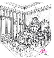 interior perspective drawing - Buscar con Google