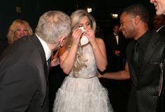 Pin for Later: Diese Bilder gab's nicht im TV zu sehen! Lady Gaga