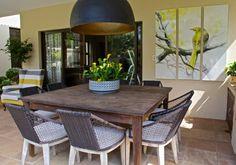 Outdoor Furniture, Outdoor Decor, Garden Design, Dining Table, Wallpaper, Interior, Home Decor, Decoration Home, Indoor