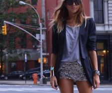 every girl needs a pair of sequin shorts in her life