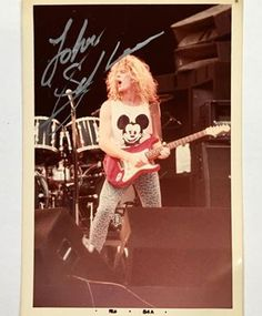sign_getter_42's Instagram Photo - John Sykes (WHITESNKE 1984) In person autographed picture. Photo by Hikaru Doki. #ジョンサイクス #ホワイトスネイク #サイン写真 #ミュージシャンサイン #ヘビーメタル #ロックバンドサイン #johnsykes #whitesnake #inpersonautograph #musicianautograph #autographedpicture #stagephotography #rocklegend #superguitarist #rockautograph #hikarudokistagephotography #thinlizzy #bluemurder #heavymetalband #mickeymouse #thunderandlightning #coldsweat #アーティストサイン