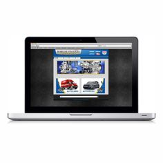 Project: Website for mechanicals component and spare parts.  http://www.centrodieselborgese.it/ #website #graphic #web #internet