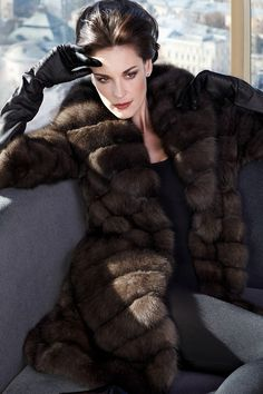 Russian Siberian Sable fur #anandco #furonline #furfashion