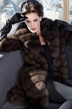 Russian Siberian Sable fur #anandco #furonline #furfashion