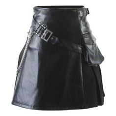Viking Leather Kilt genuine leather Shop now at 50% discount