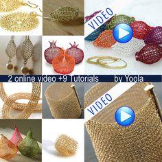 Die 49 Besten Bilder Von Häkeln Wire Jewelry Wire Crochet Und Tejidos