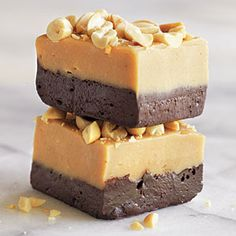 Yes, you CAN eat Peanut Butter and Dark Chocolate Fudge.|
