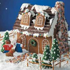 Gingerbread Houses    Celebrate Christmas with a classic holiday tradition—a homemade gingerbread house! Browse through these festive recipes for gingerbread houses to learn how to make a gingerbread house. 14 versions of gingerbread...