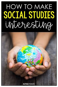 Click through for ideas to make social studies more interesting for your students! Click through for ideas to make social studies more interesting for your students! Social Studies For Kids, Social Studies Curriculum, Social Studies Lesson Plans, Kindergarten Social Studies, 6th Grade Social Studies, Social Studies Classroom, Social Studies Activities, Teaching Social Studies, Teaching History