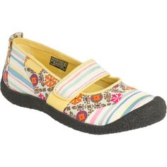 KEENHarvest MJ Shoe - Women's   -   keen, mary jane, fabric, different patterns, spring, summer.     lj