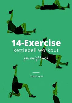 14 Kettlebell Exercises for Weight Loss ( Plus Free Workout Printable)