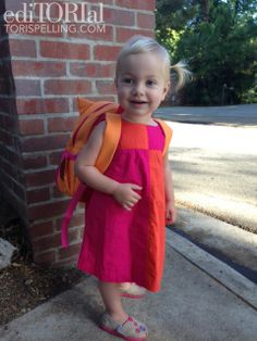 Tori Spelling's daughter Hattie - Milestone Monday: First Day of School Photos