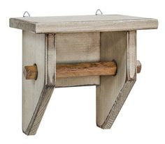 Primitive Small Toilet Paper Holder - The Rustic Saltbox