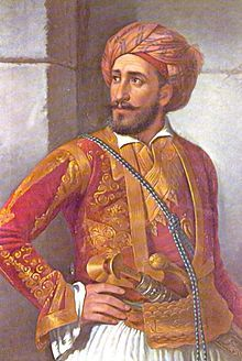 General Yannis Makriyannis was a Greek merchant, military officer, politician and author. A merchant is a businessperson who trades in commodities produced by others, in order to earn a profit. Ancient Rome, Ancient Greece, Greek Independence, Greek Traditional Dress, Greek Men, Greek Warrior, Military Officer, Exotic Art, Greek History