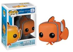 """Disney: Finding Nemo Action Figure: The cutest Pop!'s in the Coral Reef! These Pop!'s capture all the undersea fun from the 2003 classic Disney Pixar film! And yes, Nemo has his """"little"""" fin. Disney Pixar, Disney Pop, Disney Finding Dory, Disney Tangled, Finding Nemo, Disney Cars, Figurine Pop Disney, Pop Figurine, Pop Vinyl Figures"""