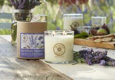 Duftwachsglas Brighter World, Lavendel & Verbene