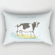 Check out society6curated.com for more! @society6 #illustration #home #decor #homedecor #interior #design #interiordesign #buy #shop #shopping #sale #apartment #apartmentgoals #sophomore #year #house #fun #cool #unique #gift #giftidea #idea #pillows #cow #cowabunga #funny #lol #black #white #blue #yellow