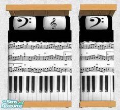 Riverwillows' Musical Bedding