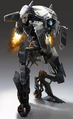 concept robots: Robots by Spiros Karkavelas