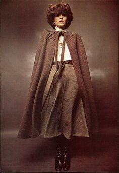 Keep warm in style this winter with a Sunburst Cloak. Few things are more regal than donning an accessory like this, and the beauty of this cloak is that it is easy to make and perfect for attending formal winter events.