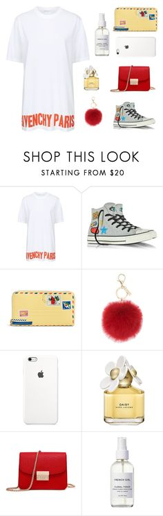 """Без названия #994"" by m-gorodetskaya ❤ liked on Polyvore featuring Givenchy, Converse, Vera Bradley, L.K.Bennett, Marc Jacobs and French Girl"