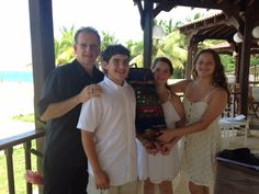 Another great Bar Mitzvah in Puerto Rico.
