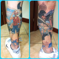 One Piece tattoo!