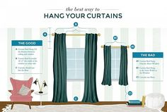 How to Correctly Hang Curtains | POPSUGAR Home