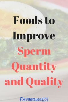 Improving the quality and quantity of sperm is a big part of helping to conceive. Click the link to find out what foods you should be eating to help improve sperm. improving sperm, fertility tips, conception tips, tips to he Diet While Pregnant, Get Pregnant Fast, Getting Pregnant, Weight Loss Meals, Conception Tips, Fertility Diet, Natural Fertility, Male Infertility, Trying To Conceive