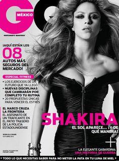 Octubre en GQ con Shakira