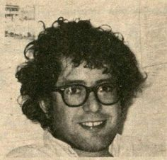 A photo of Bernie Sanders from an October, 1974 Liberty Union political party newsletter. Courtesy of the Liberty Union and UVM collections.